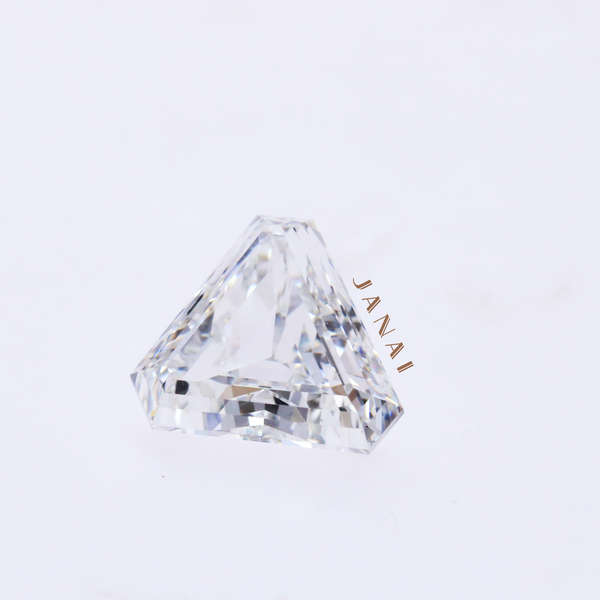 1.51cts Triangular Step Cut Diamond