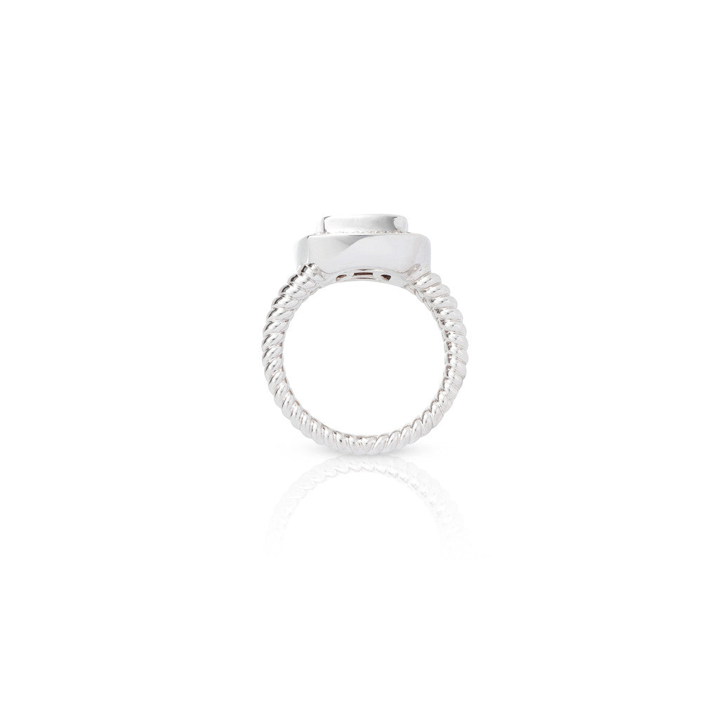 White Gold Cirque Dress Ring