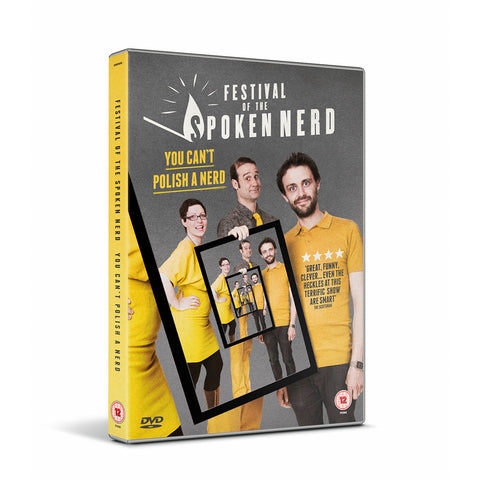 PRE-ORDER: You Can't Polish A Nerd DVD + free download