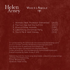 """Voice Of An Angle"" CD EP + free download + free songbook"