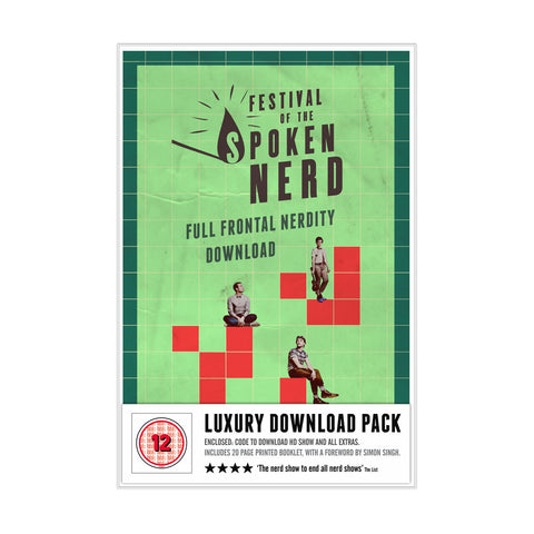 Full Frontal Nerdity Download Gift Pack - signed