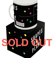 "SOLD OUT - ""Shapes On A Plane"" Mug"