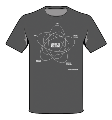 """Girls and Boys"" Venn T-Shirt"