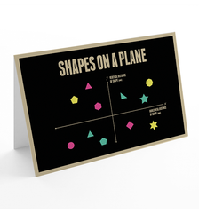 Just For Graphs greeting card 3-pack
