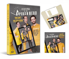 PRE-ORDER: You Can't Polish A Nerd floppy disk + free download
