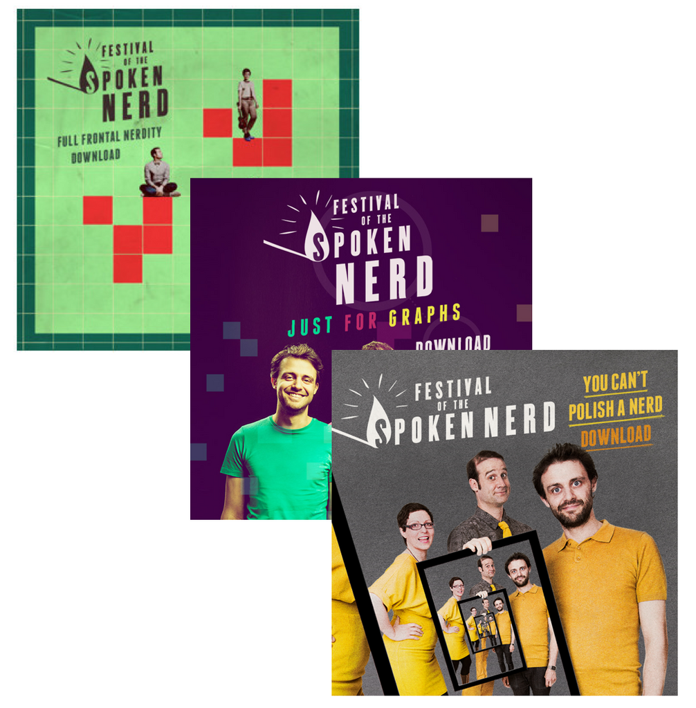Download-only triple bundle - all three shows in HD