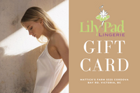 Lily Pad Lingerie Gift Card - Lily Pad Lingerie