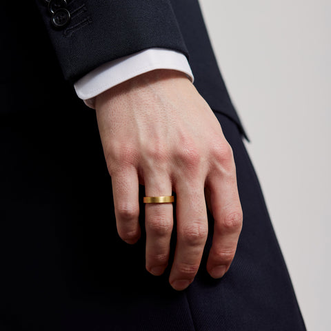 5MM RING / gold - alexorso