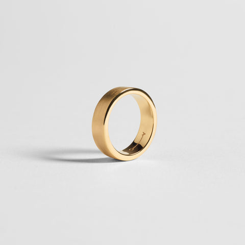 7MM RING / gold - alexorso