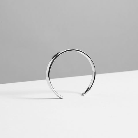 5MM POLISHED CUFF / silver - alexorso