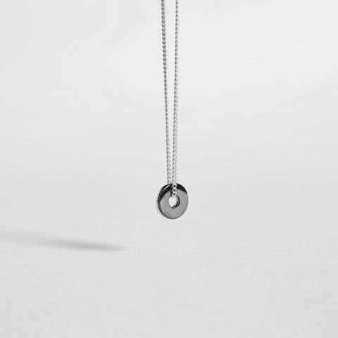DOUBLE WASHER / ruthenium+silver - alexorso