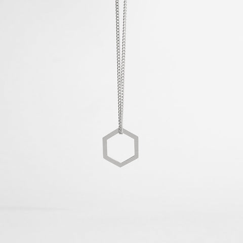 HEXAGON / silver