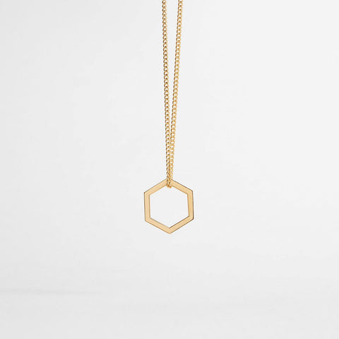 HEXAGON / gold