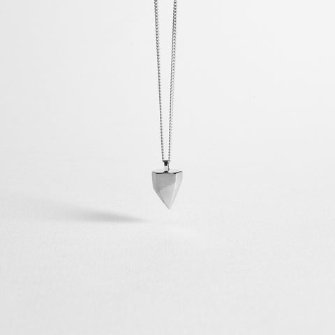 SHARK TOOTH / silver - alexorso