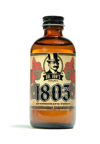 Dr. Jon's 1803 Aftershave Tonic - 4oz.