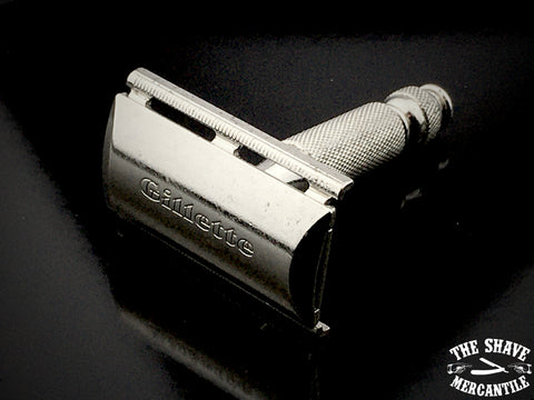 Vintage 1965 (K3) Gillette Travel Tech Double Edge Safety Razor