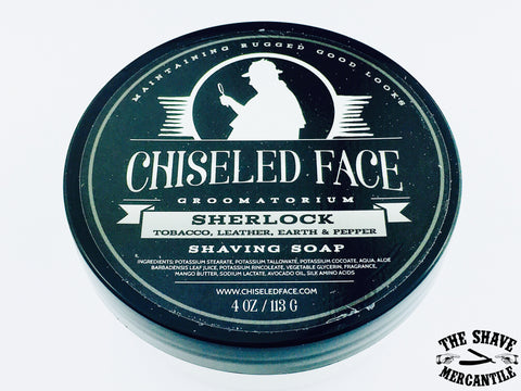 Chiseled Face Tallow Shave Soap - Sherlock