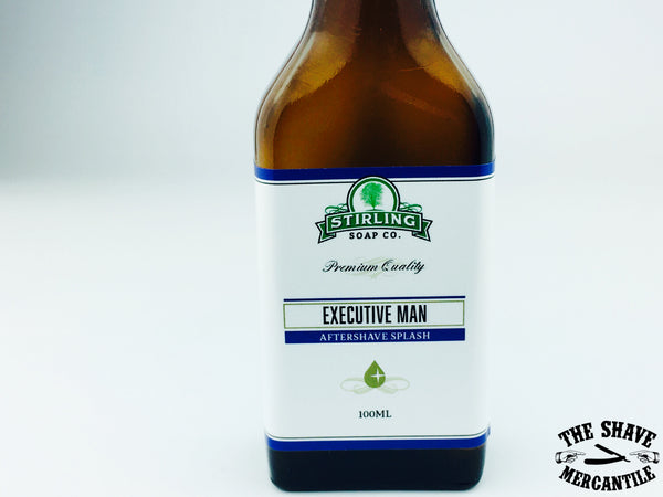 Stirling Soap Co. - Executive Man - Aftershave Splash - 100ml.