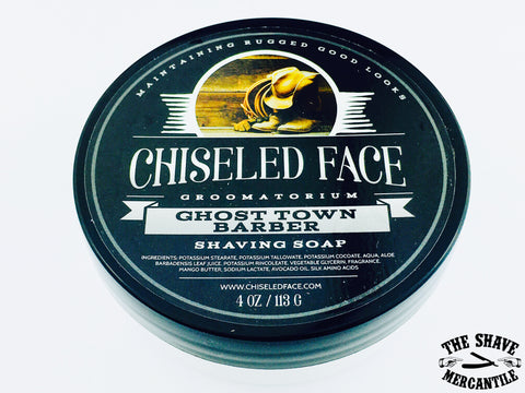 Chiseled Face Tallow Shave Soap - Ghost Town Barber