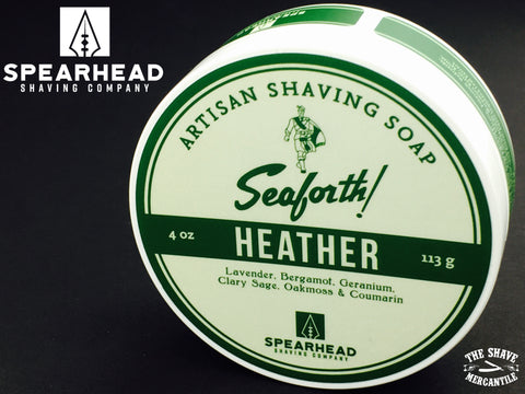 Spearhead Shaving Company - Seaforth! Heather Shaving Soap