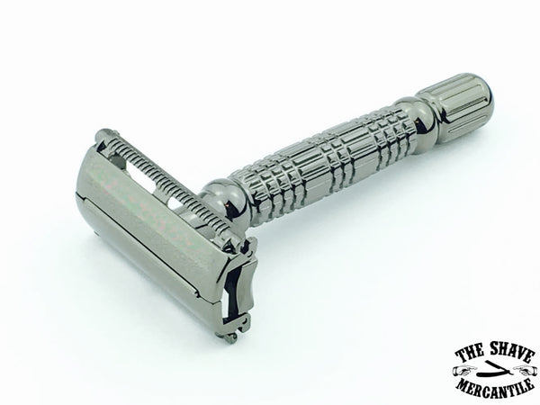 Rockwell Razors R1 Butterfly Safety Razor - GUNMETAL FINISH