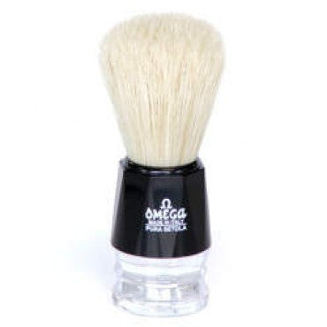 Omega 10019 Boar Hair Bristle Shaving brush