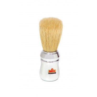 "Omega 10048 ""Pro 48"" Professional Boar Hair Shaving Brush"