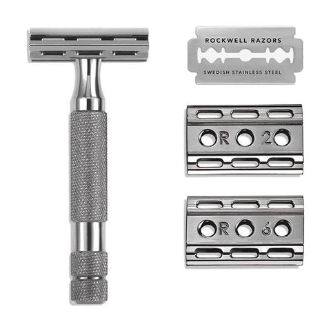 Rockwell Razors 6C Adjustable Safety Razor - Gunmetal