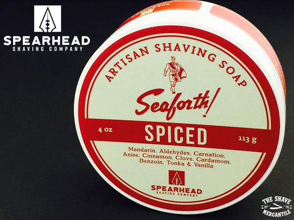 Spearhead Shaving Company - Seaforth! Spiced Saving Soap