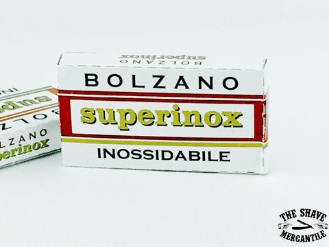 Bolzano Superinox Double Edge Razor Blades (Pack of 5)
