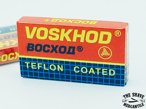 Voskhod Teflon Coated Double Edge Razors Blades (pack of 5)