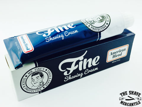 Fine Accoutrements American Blend Shaving Cream - 100ml