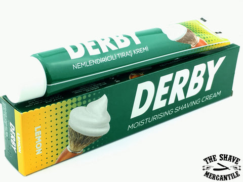 Derby Shaving Cream - Lemon - 100g