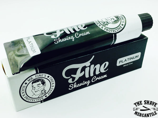 Fine Accoutrements Platinum Shaving Cream - 100ml
