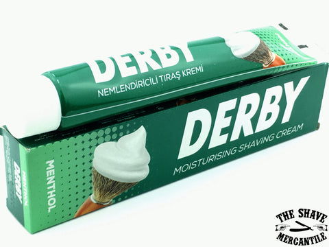 Derby Shaving Cream - Menthol - 100g