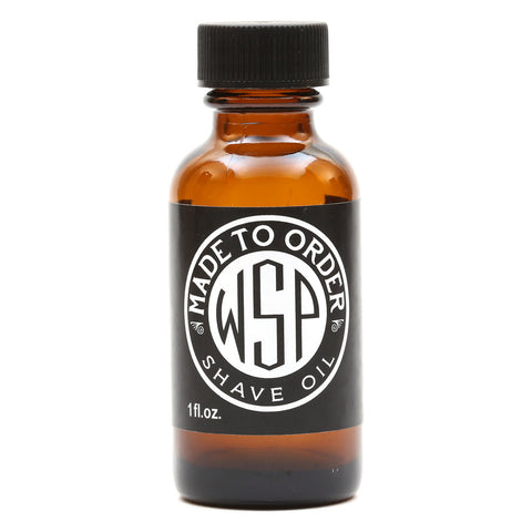 WSP Pre & Post Shave Oil - Unscented - 1 oz.