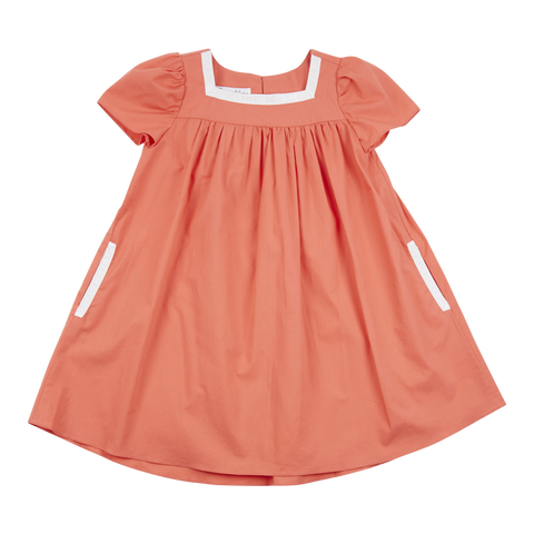 Samso Dress in Coral