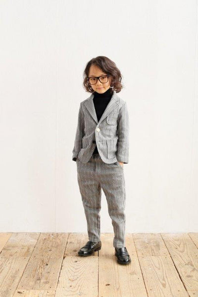 Cotton Knit Turtle in Grey - Arch&Line