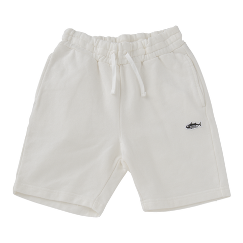 Jersey Shorts in White