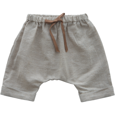 Sand Color Saruel Shorts
