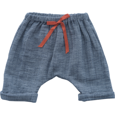 Indigo Saruel Shorts in Cotton