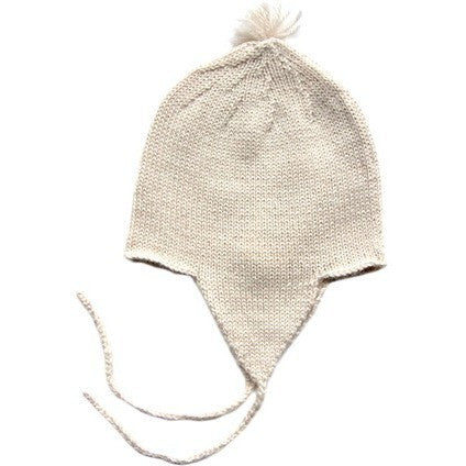 Baby Andean Hat in Ivory