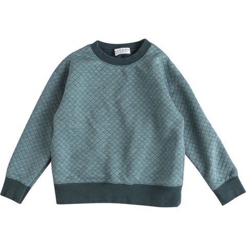 Seam Pocket Sweater in Green