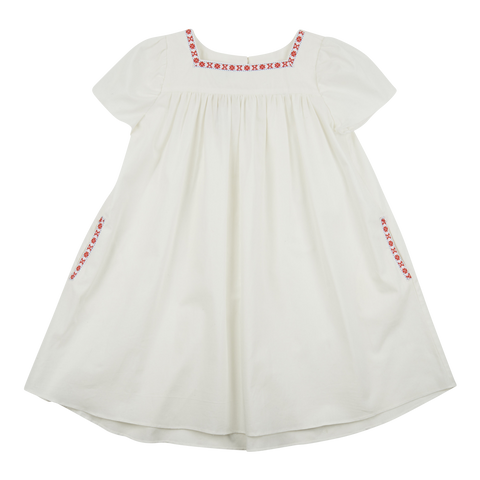Samso Dress in White
