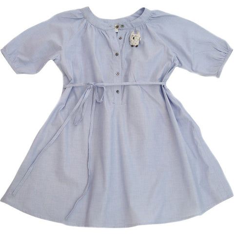 Charlie Dress in Chambray - Noro
