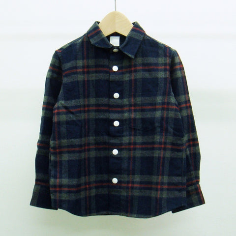 Men's Indigo Shirt in Plaid
