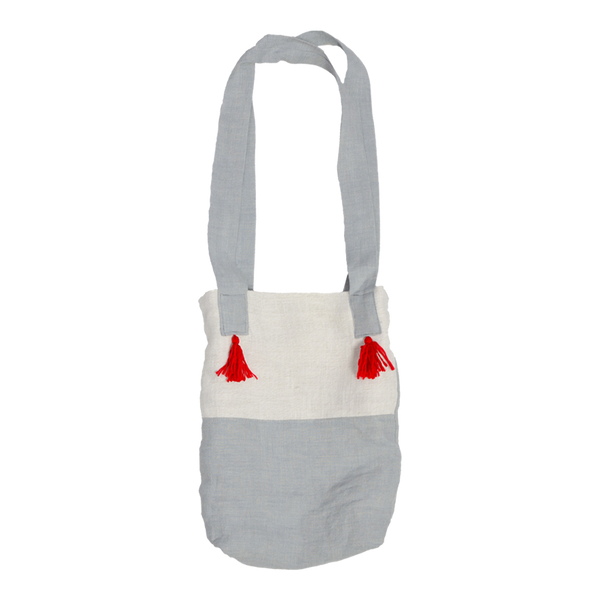 Linen Bag in Grey