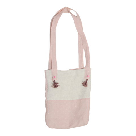 Linen Bag in Rose
