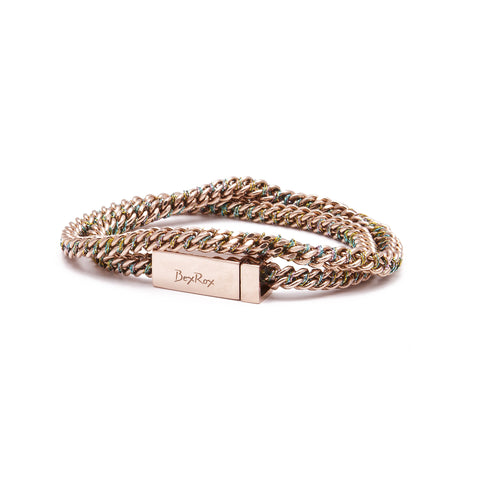 Friendship Bracelet in Rose Gold