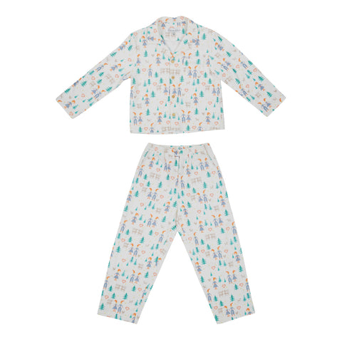 Hygge Winter Pyjamas in White - Annaliv